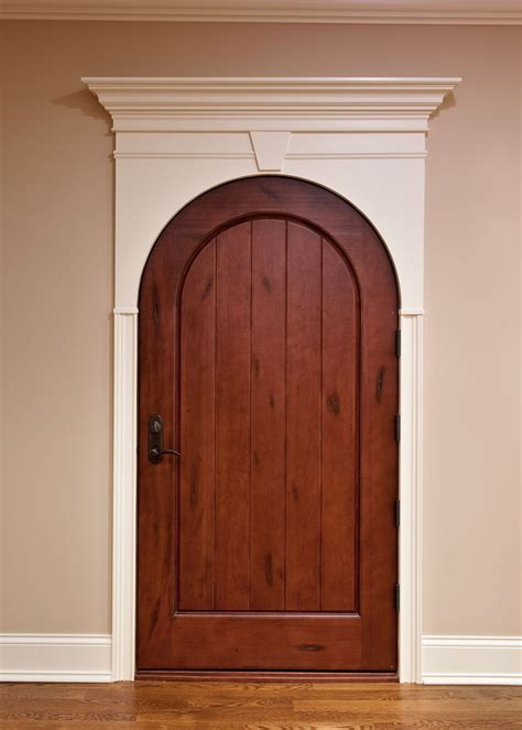 Brown Bedroom Ideas - interior door custom single solid wood with medium mahogany finish wine cellar model dbi 123