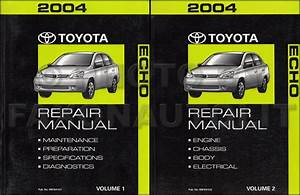 2004 Toyota Echo Wiring Diagram Manual Original
