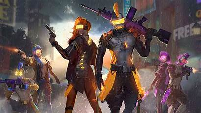 Garena Fire Cyborgs Resolution Wallpapers Games Tags
