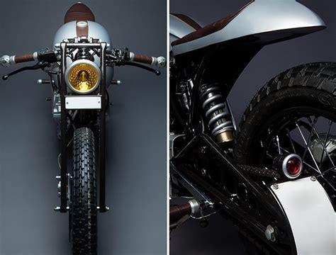 Karizma Modified Cafe Racer by Honda Karizma Based Custom Caf 233 Racer Named Sliver