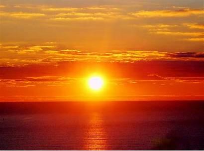 Rising Sun Ocean Wallpapers Goes Alone Sunrise