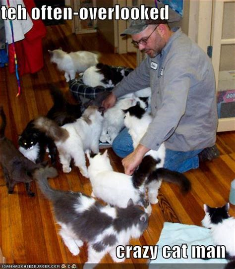 Crazy Cat Man Meme - funny pictures there are crazy cat gentlemen as well1 animal lover s club