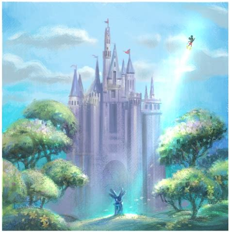 Beautiful Epic Mickey Concept Art Nintendo Everything