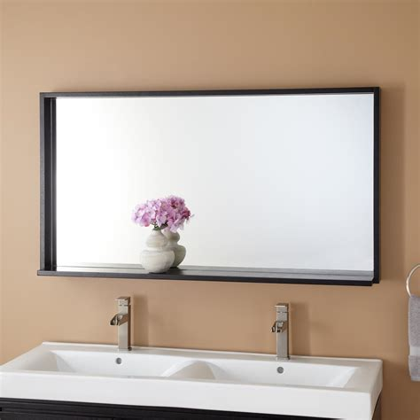 Framed Modern Vanity Mirror Signature Hardware