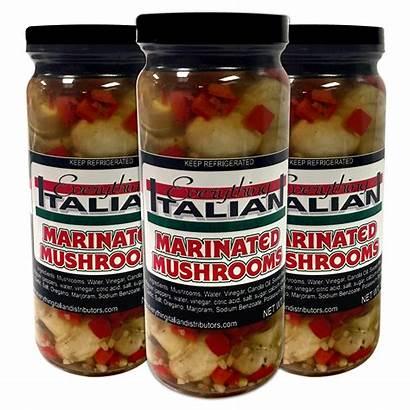 Mushrooms Marinated Italian