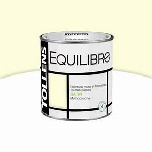 Blanc Cassé Peinture : peinture murs et boiseries blanc cass satin 500 ml ~ Melissatoandfro.com Idées de Décoration