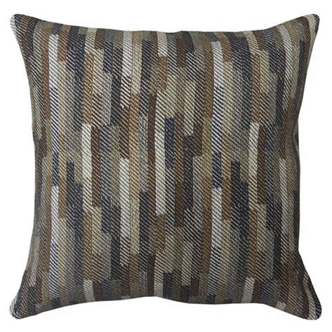 Blue Brown Throw Pillows by Daru Brown Blue Pillow A1000255 Pillows