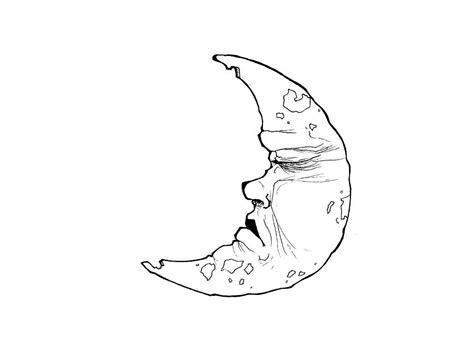 crescent moon silhouette  getdrawingscom   personal  crescent moon silhouette