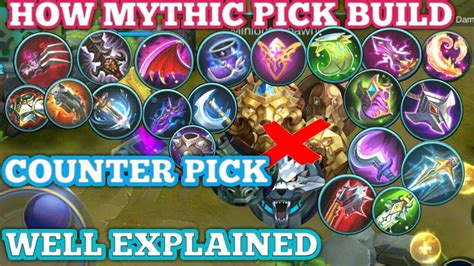 How Mythic Build Item And Newbie Dont