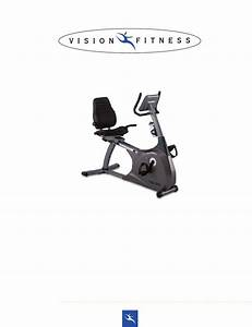Vision Fitness R2200 Manual