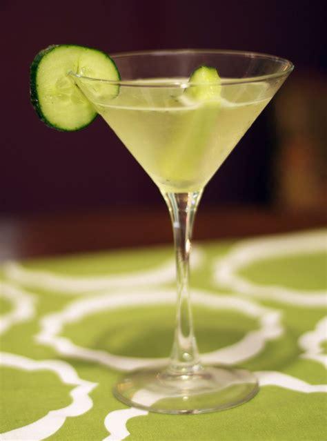 cucumber vodka martini glutenfreedelicacy