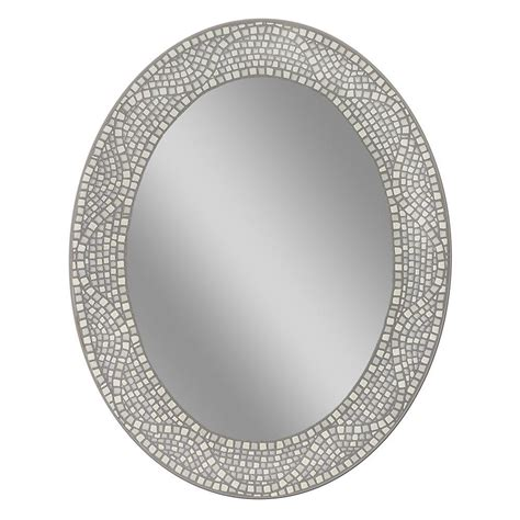 Framed Oval Bathroom Mirror by Shape Oval Framed Bathroom Mirrors Homimi