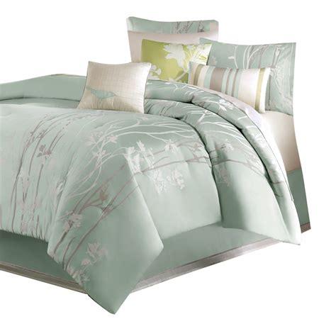madison park athena 7 piece floral print comforter set