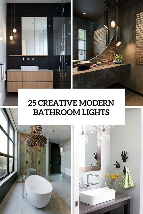 Bathroom Light Ideas by 25 Creative Modern Bathroom Lights Ideas You Ll
