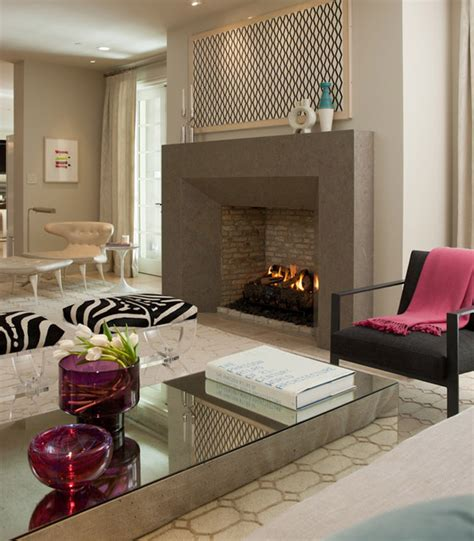 modern living room with fireplace sleek fireplace design contemporary living room san