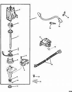 Mercruiser 3 0l Mpi Ec Distributor  U0026 Ignition Components Parts