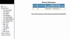 Displaying Memory Information