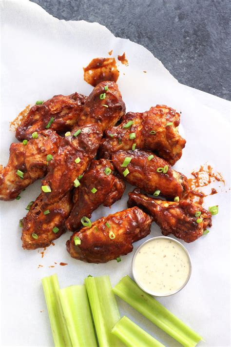 wings air bbq fried carb low paleo whole30 recipe wing chicken fryer whole ranch extra sure healthy