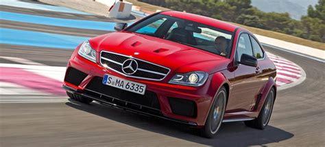 [fuel consumption combined 12.2 l/100 km; Dark Horse: 2012 Mercedes-Benz C63 AMG Black Series review