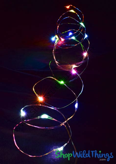 Fairy String Lights With 20 Led's, Multicolor Colorful