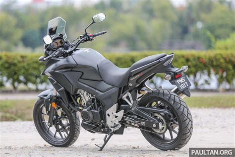 Review Honda Cb500x by Review 2017 Honda Cb500x A Soft Comfortable Middle