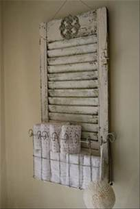 Ideas for Using Old Shutters