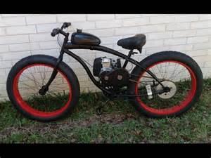4 Stroke Motorized Fat Tire Bikes