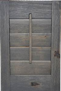 Showcase shutters for Barnwood shutters