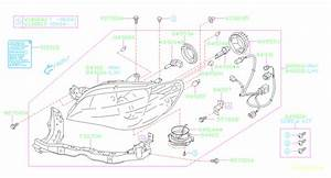 2006 Subaru Sti Headlight Wiring Harness
