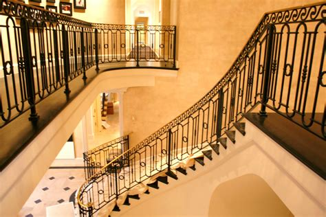 Wrought Iron Outdoor Stair