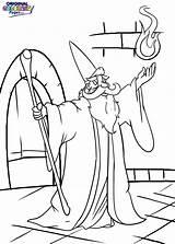 Wizard Coloring Pages Presidents Evil Spell Resident Getcolorings Printable Pre Colorin Getdrawings Colorings sketch template