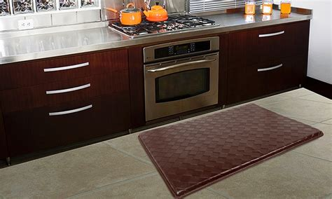 memory foam kitchen floor mat memory foam comfort kitchen mats groupon goods 9139