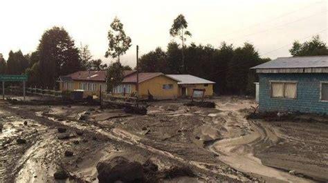 Erupción Volcán Calbuco Comunidades de Los Lagos fueron