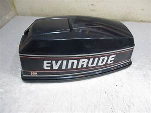 0284722 Top Engine Cover Evinrude Johnson Cowl Outboard
