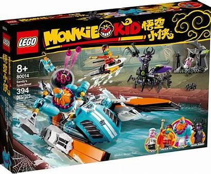 Lego Kid Monkie Sets August Zusammengebaut Drei