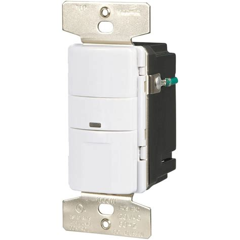 Ceiling Mount Occupancy Sensor Home Depot by Eaton 600 Watt 120 Volt Wall Mount Occupancy Vacancy
