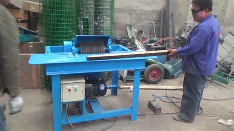 automatic wood pallet groove notchergrooving machine