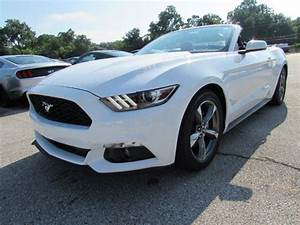 2017 Ford Mustang V6 6 Miles White Convertible Regular Unleaded V-6 3.7 L/227 Au for sale in ...