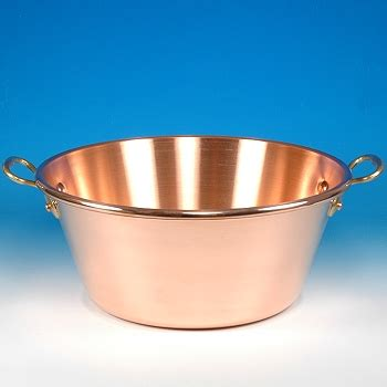 extra heavy jam pan solid copper