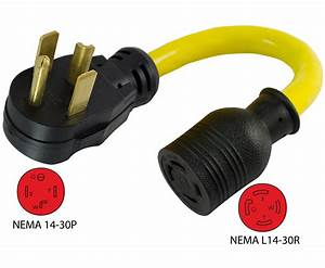 Conntek 14330 Nema 14 Generator Pigtail Adapter