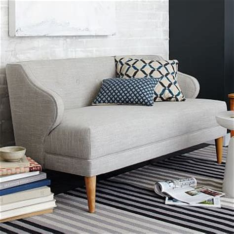 M S Settees by Denmark Leather Loveseat West Elm