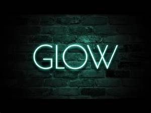 How to Create Neon Text Effect with shop sh