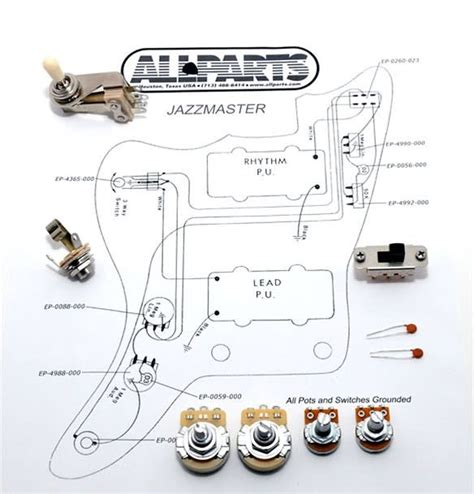 new wirning kit jazzmaster pots toggle switch diagram reverb
