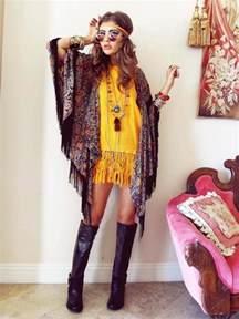 robe mariã e hippie chic la mode hippie chic 50 idées été automne de style bohème