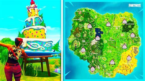 clip  cake locations fortnite br bhclip  gamevipme