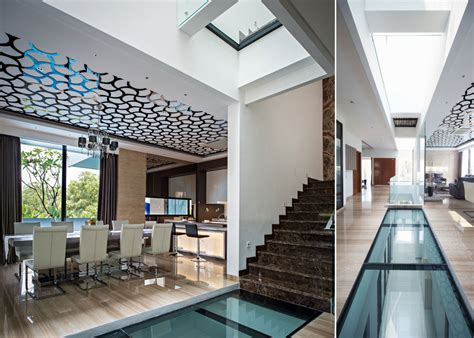 Creative Ceiling In A Room by House With Creative Ceilings And Glass Floors