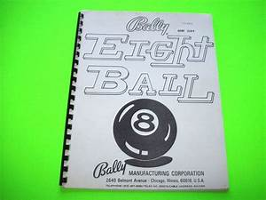 318 Best Pinball Machine Manuals For Sale Images On