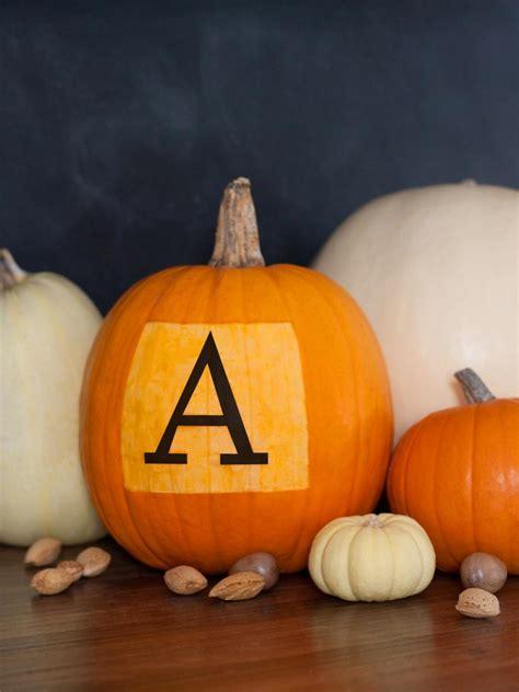 Halloween Pumpkin Decorating Diy