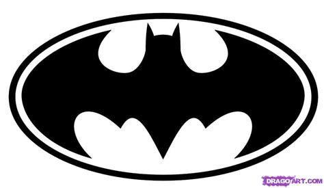 step    draw batman logo