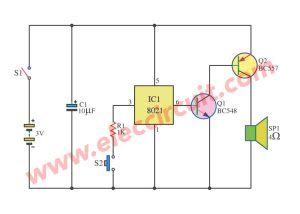 Chicken Sound Effects Circuit Eleccircuit